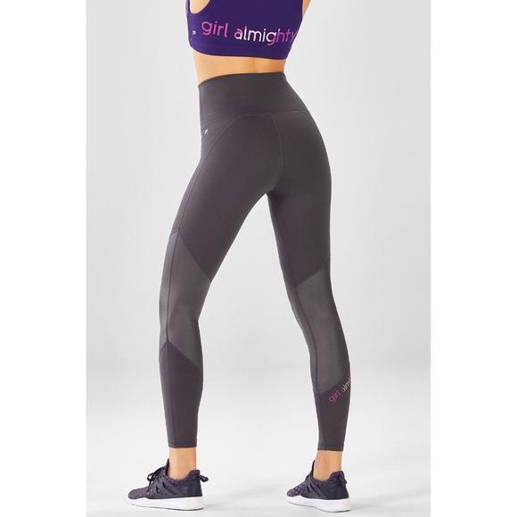 29350aedb6fb23 Fabletics Pants | Highwaisted Statement Powerhold Legging | Poshmark